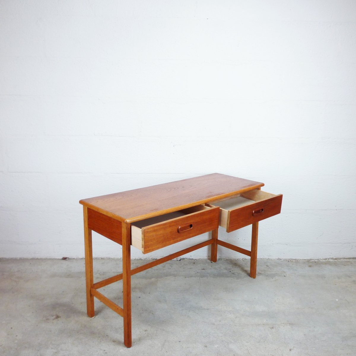 Teak console 1960s for sale at pamono price per piece geotapseo Image collections