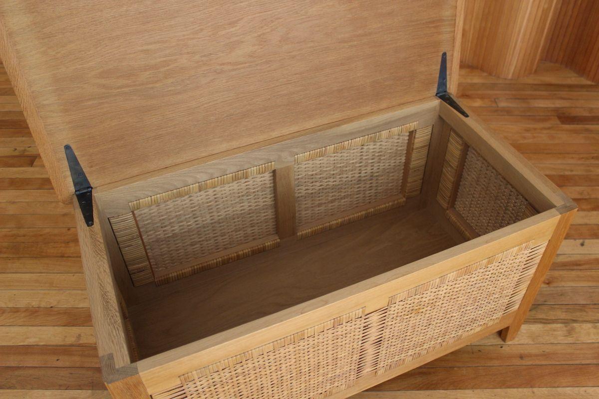 modell ph52 w schetruhe aus eiche von kaj winding f r poul hundevad 1960er bei pamono kaufen. Black Bedroom Furniture Sets. Home Design Ideas