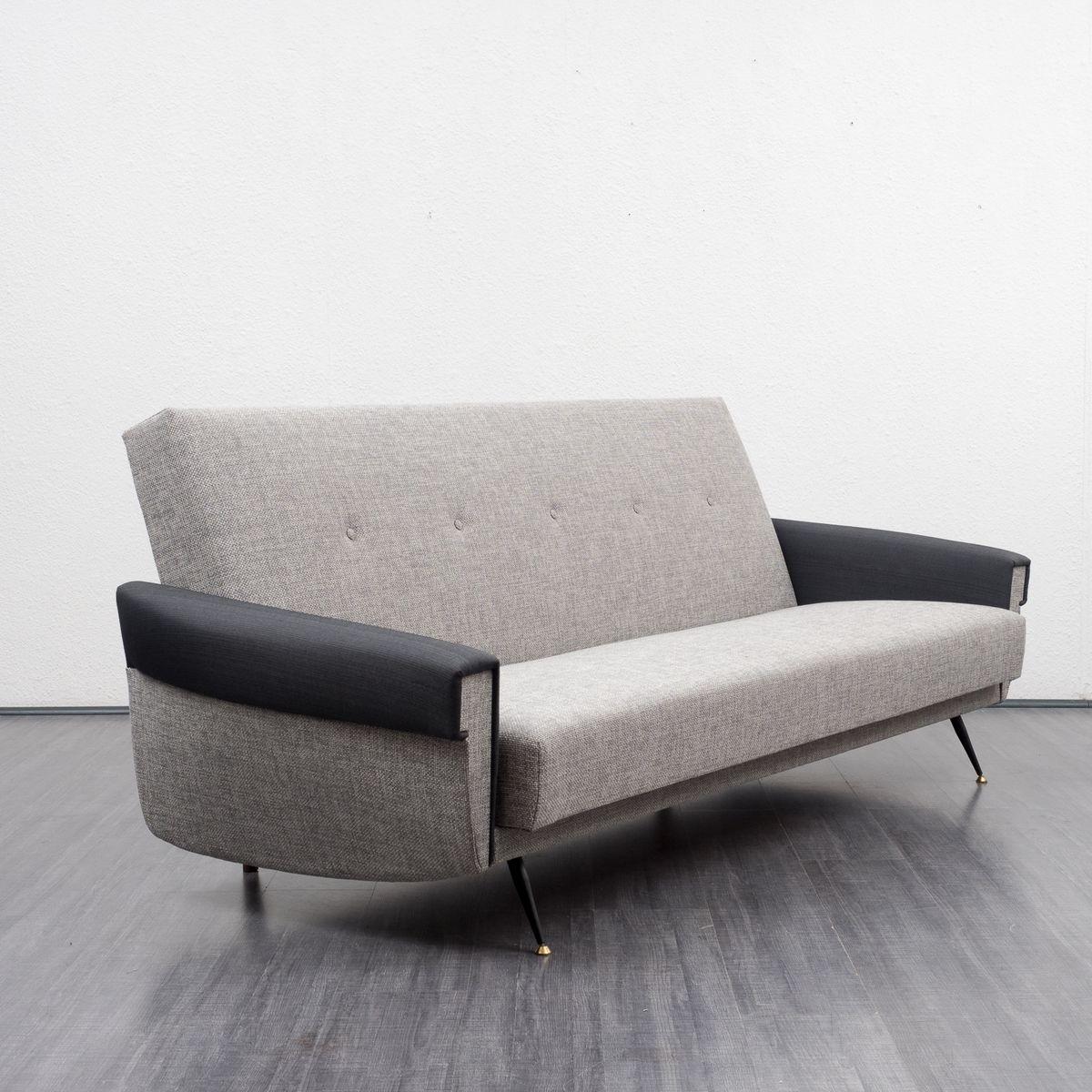 sofa mit klappmechanik 1950er bei pamono kaufen. Black Bedroom Furniture Sets. Home Design Ideas