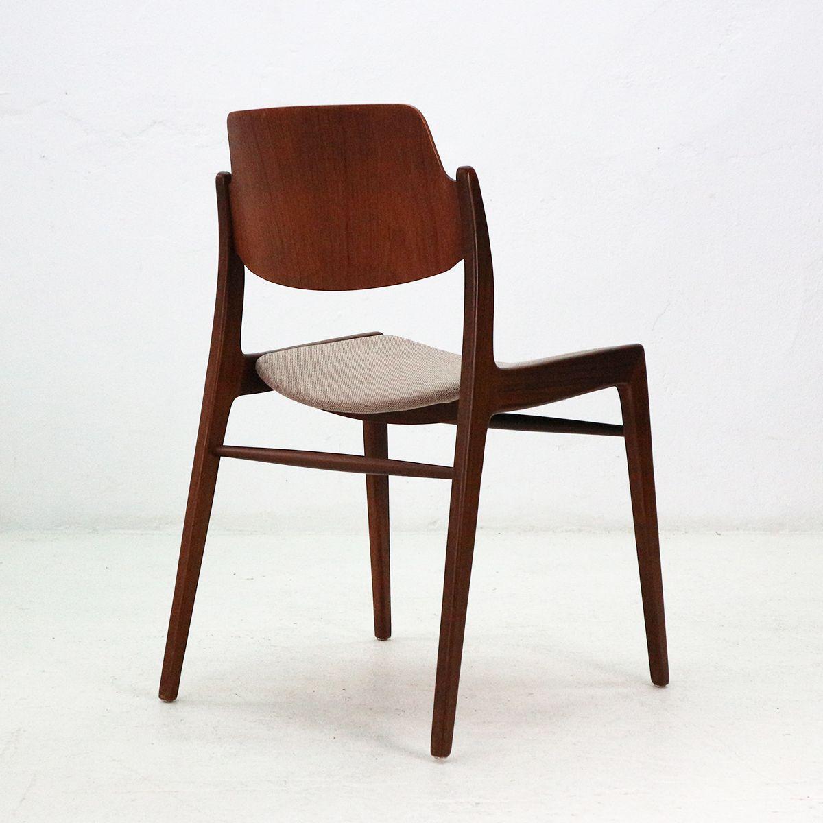 vintage 476a teak st hle von hartmut lohmeyer f r wilkhahn. Black Bedroom Furniture Sets. Home Design Ideas