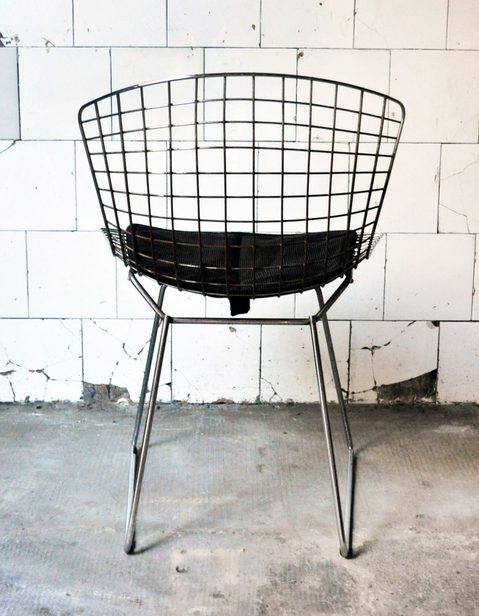 chairs by harry bertoia for knoll 1950s set of 5