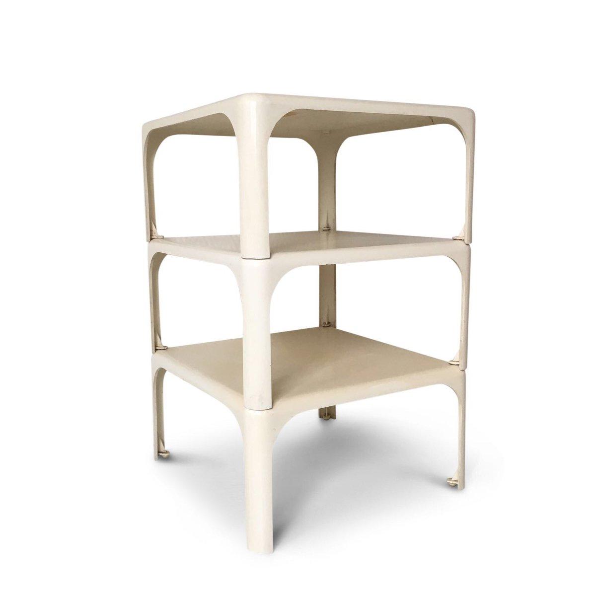 demetrio  stackable tables by vico magistretti for artemide s setof  for sale at pamono. demetrio  stackable tables by vico magistretti for artemide