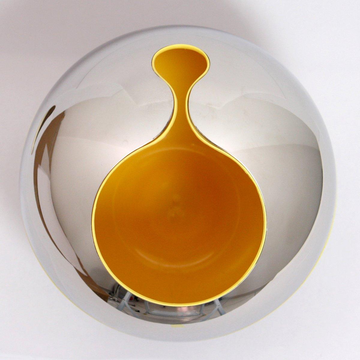 vintage vase von gi pomodoro f r alessi 1972 bei pamono kaufen. Black Bedroom Furniture Sets. Home Design Ideas