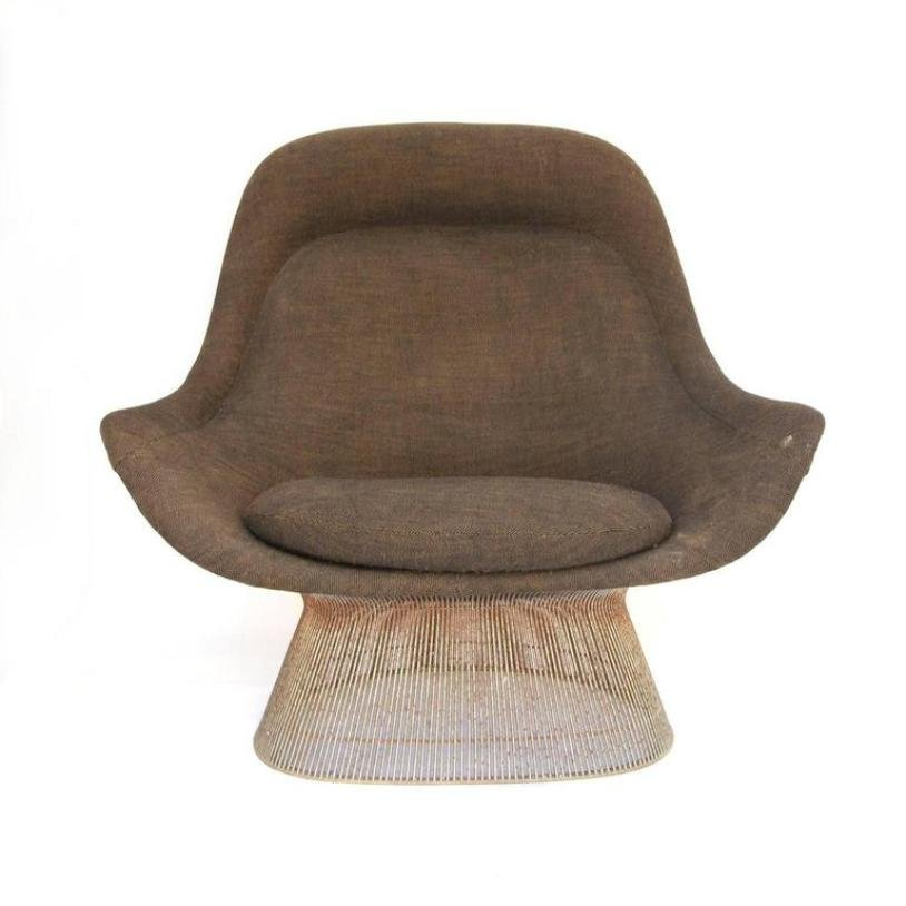 High back lounge chair by warren platner for knoll inc 1960s for sale at pamono - Knoll inc chairs ...
