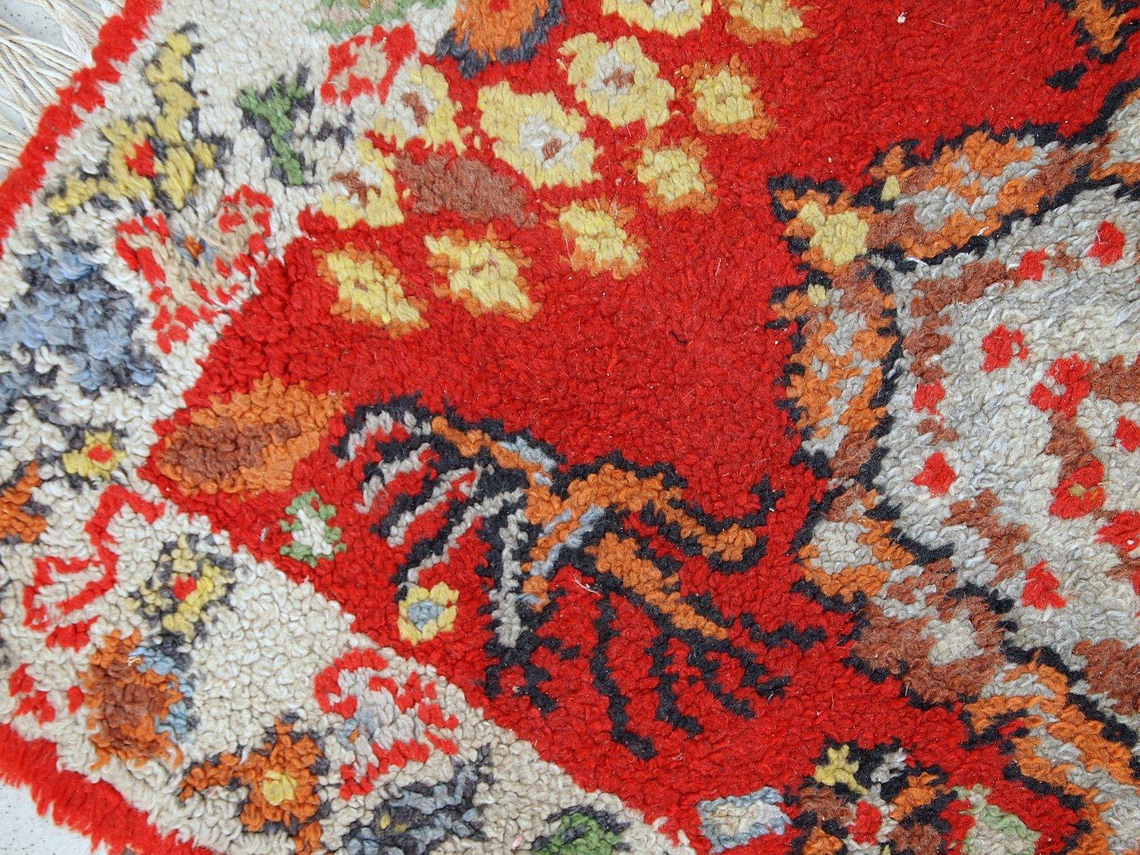 marokkanischer vintage berber teppich 1930er bei pamono kaufen. Black Bedroom Furniture Sets. Home Design Ideas