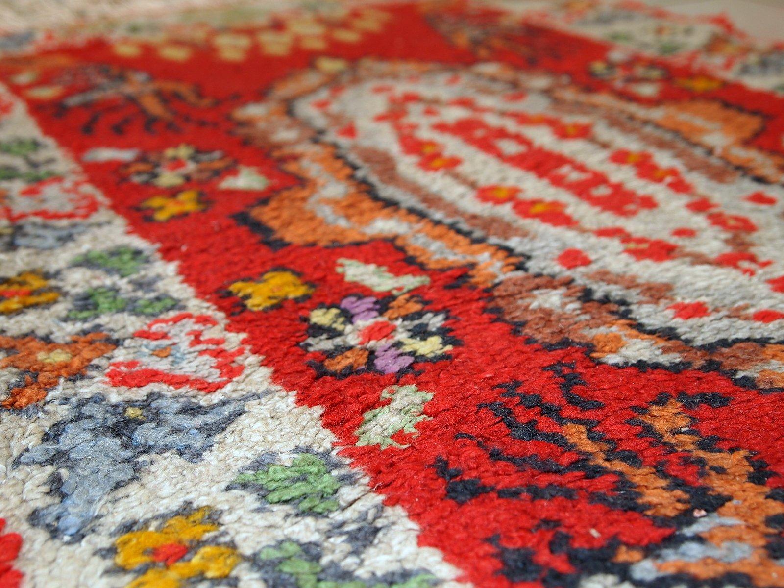 marokkanischer vintage berber teppich 1930er bei pamono. Black Bedroom Furniture Sets. Home Design Ideas