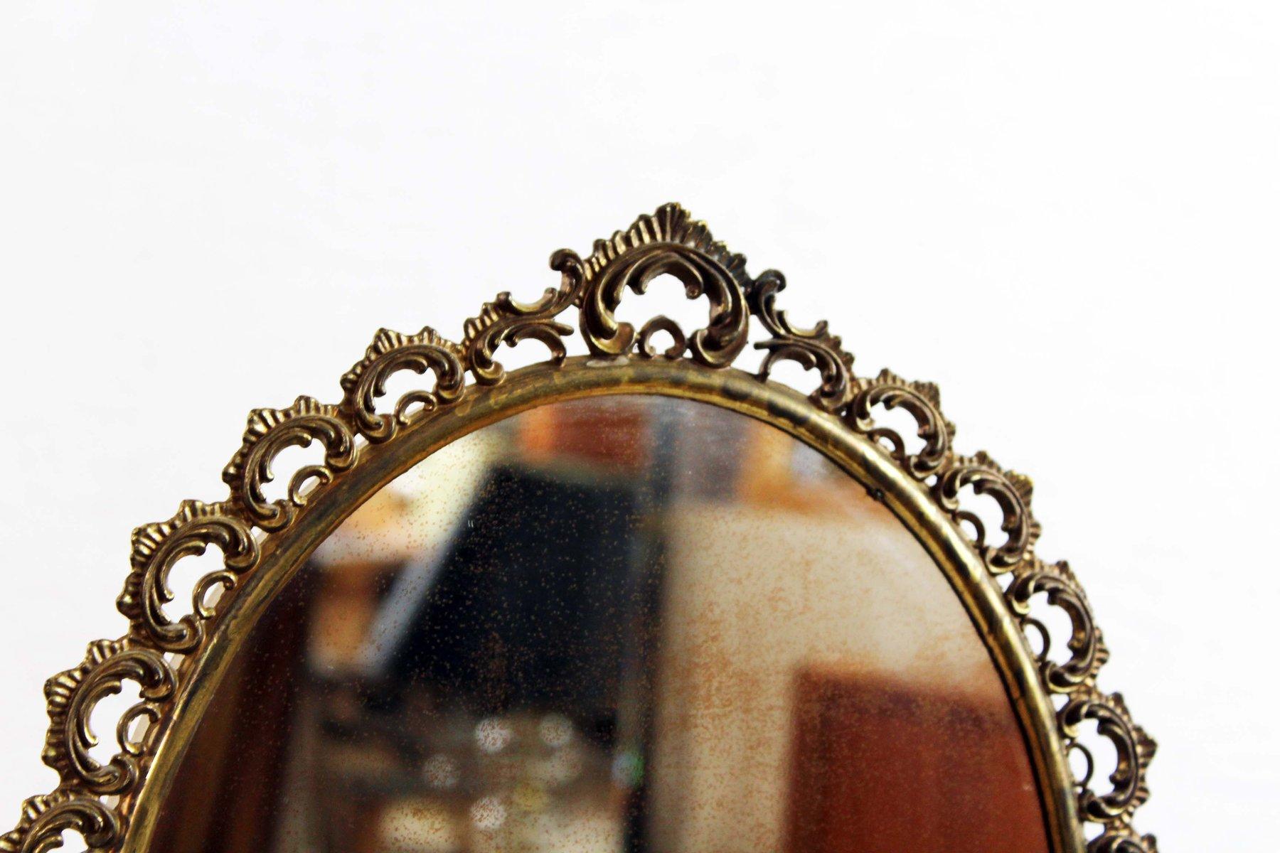 spiegel mit metallrahmen 1930er bei pamono kaufen. Black Bedroom Furniture Sets. Home Design Ideas