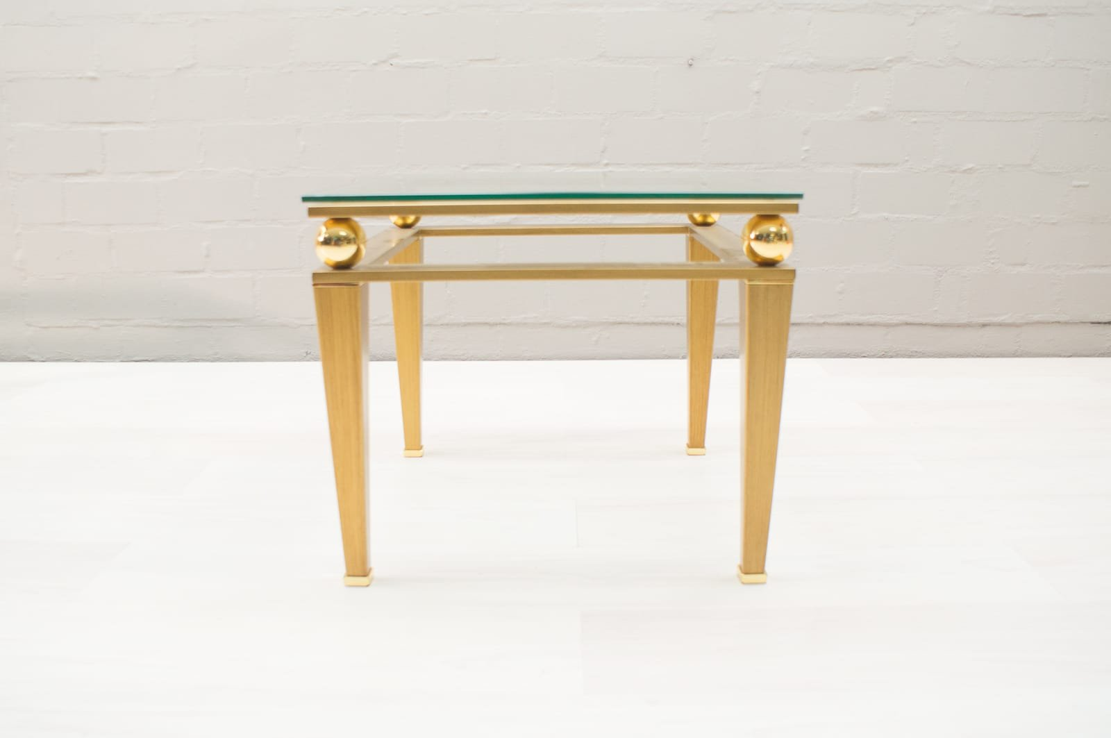 Hollywood Regency Brass Gilt Coffee Table 1960s For Sale At Pamono