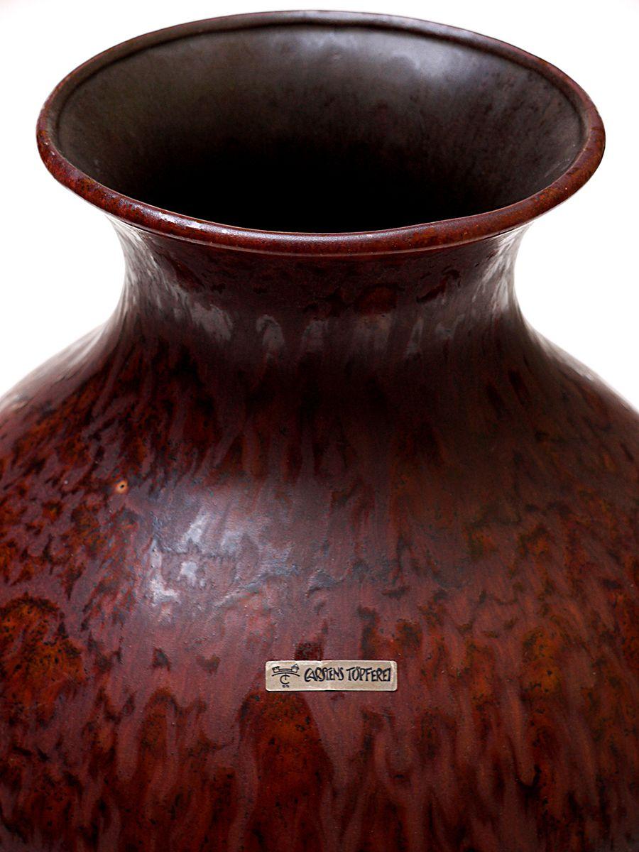 gro e deutsche vintage vase von carstens 1970er bei. Black Bedroom Furniture Sets. Home Design Ideas