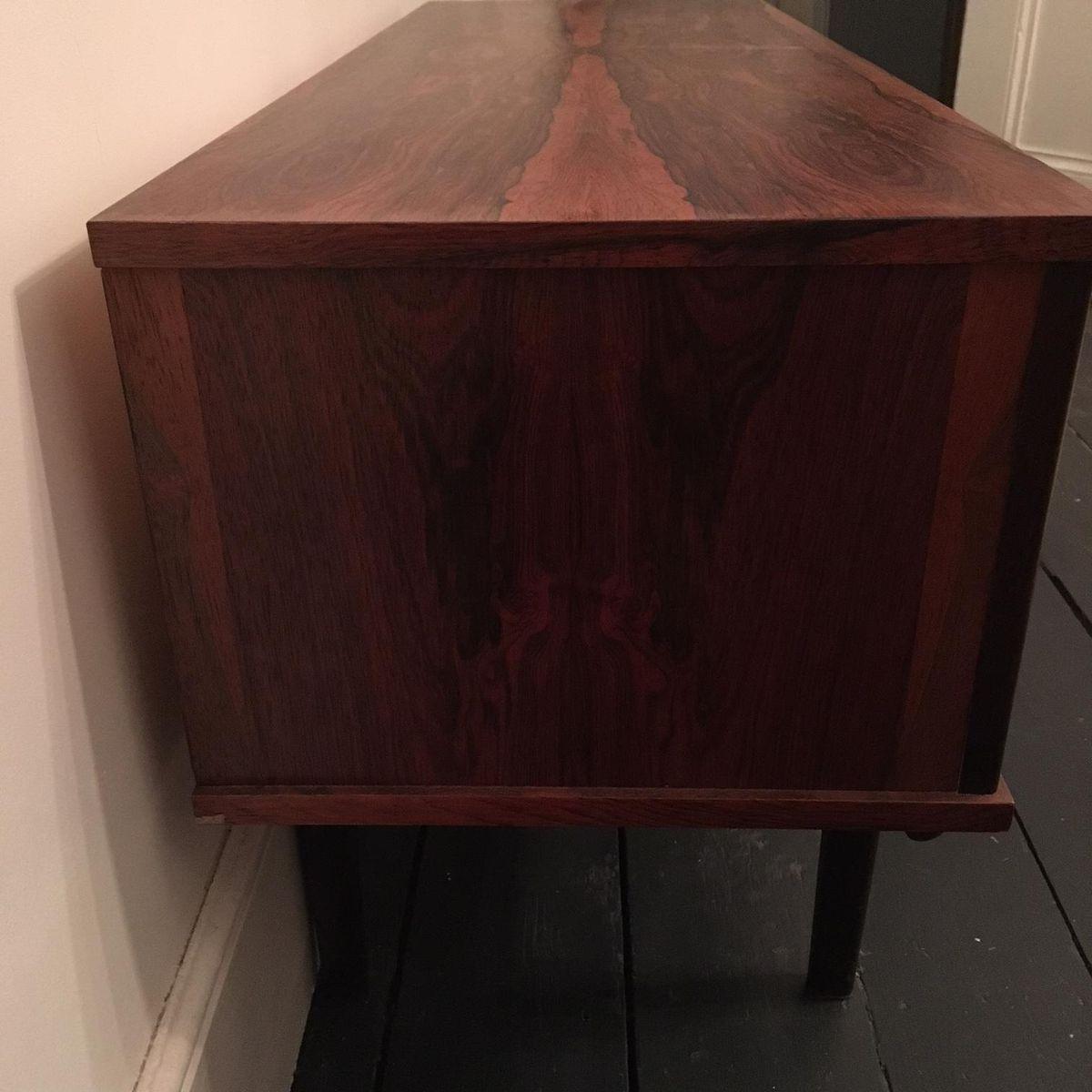 kleines mid century palisander sideboard bei pamono kaufen. Black Bedroom Furniture Sets. Home Design Ideas