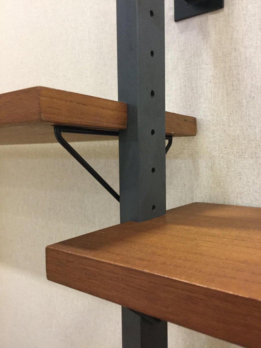 Modulares Wandregal von Oloff Pira für String, 1950er bei Pamono kaufen