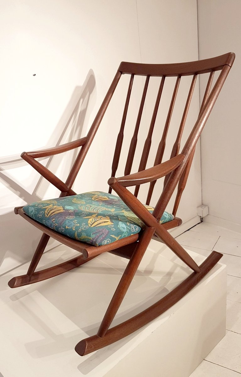 Scandinavian Rocking Chair, 1960s 3. previous