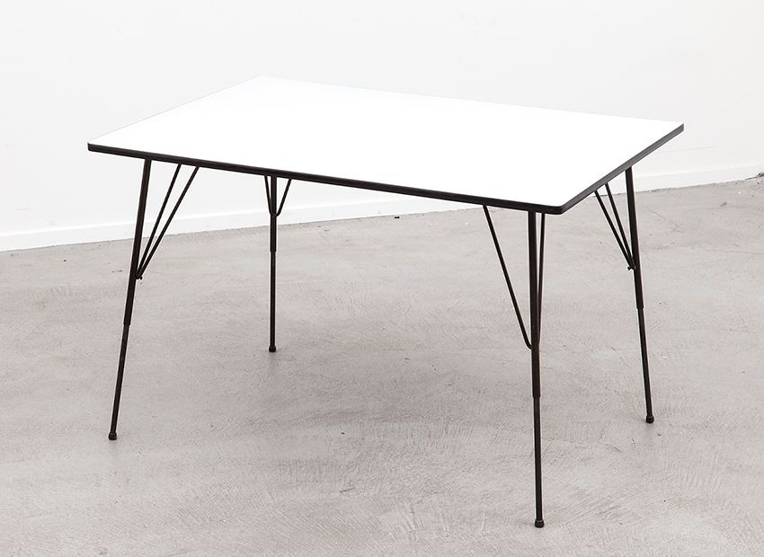 Modernist dining table by rudolf wolf for elsrijk 1950s for Dining table tj hughes