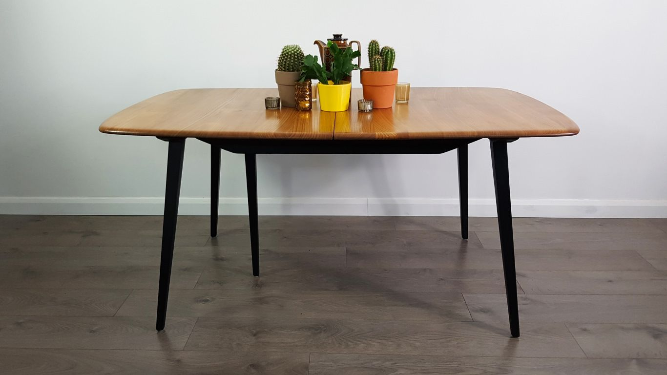 Extendable Dining Table By Lucian Ercolani For Ercol 1960s For Sale At Pamono