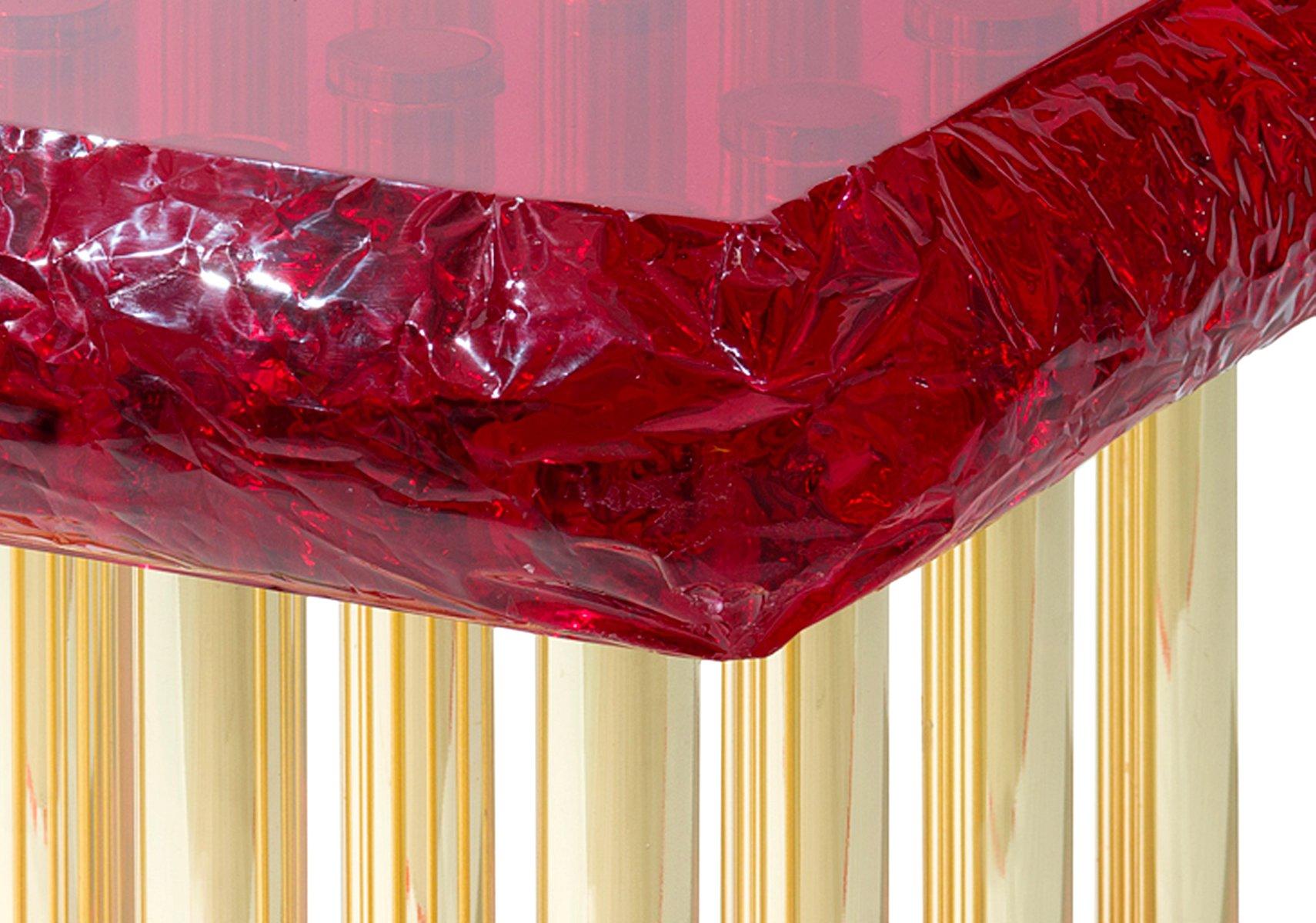 Mou couchtisch in rot von studio superego bei pamono kaufen - Couchtisch rot ...