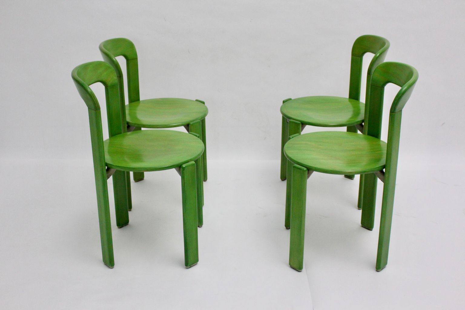 price per set. green dining chairs by bruno rey for kusch  co s set of