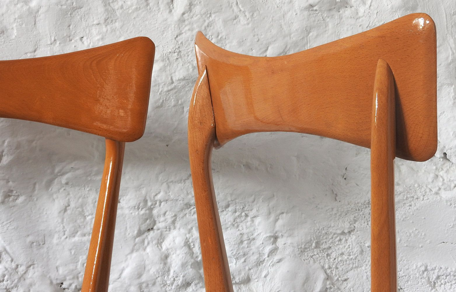 Mid Century Chairs 1950s Set Of 2 For Sale At Pamono