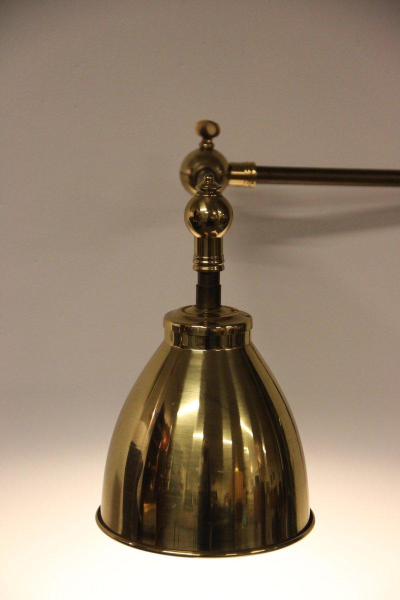 vintage wandlampe aus messing eisen bei pamono kaufen. Black Bedroom Furniture Sets. Home Design Ideas