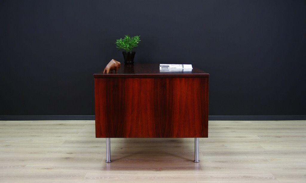palisander schreibtisch von kai kristiansen 1960er bei. Black Bedroom Furniture Sets. Home Design Ideas