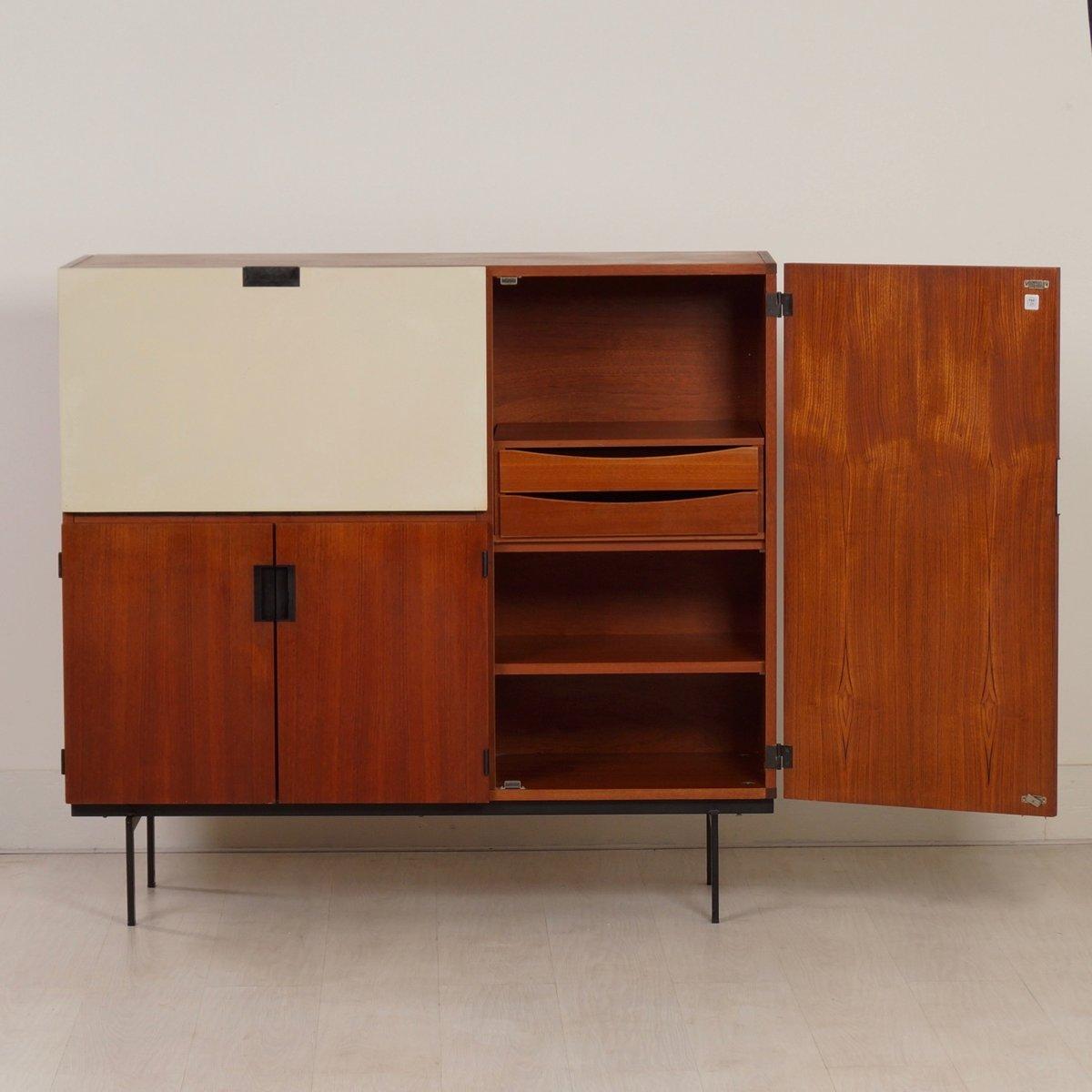 cu06 schrank von cees braakman f r pastoe 1958 bei pamono kaufen. Black Bedroom Furniture Sets. Home Design Ideas