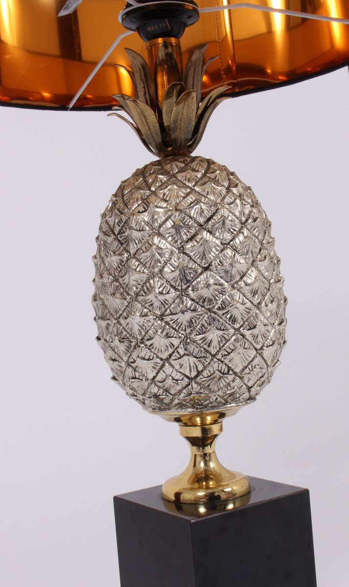 Vintage pineapple table lamp for sale at pamono aloadofball Choice Image