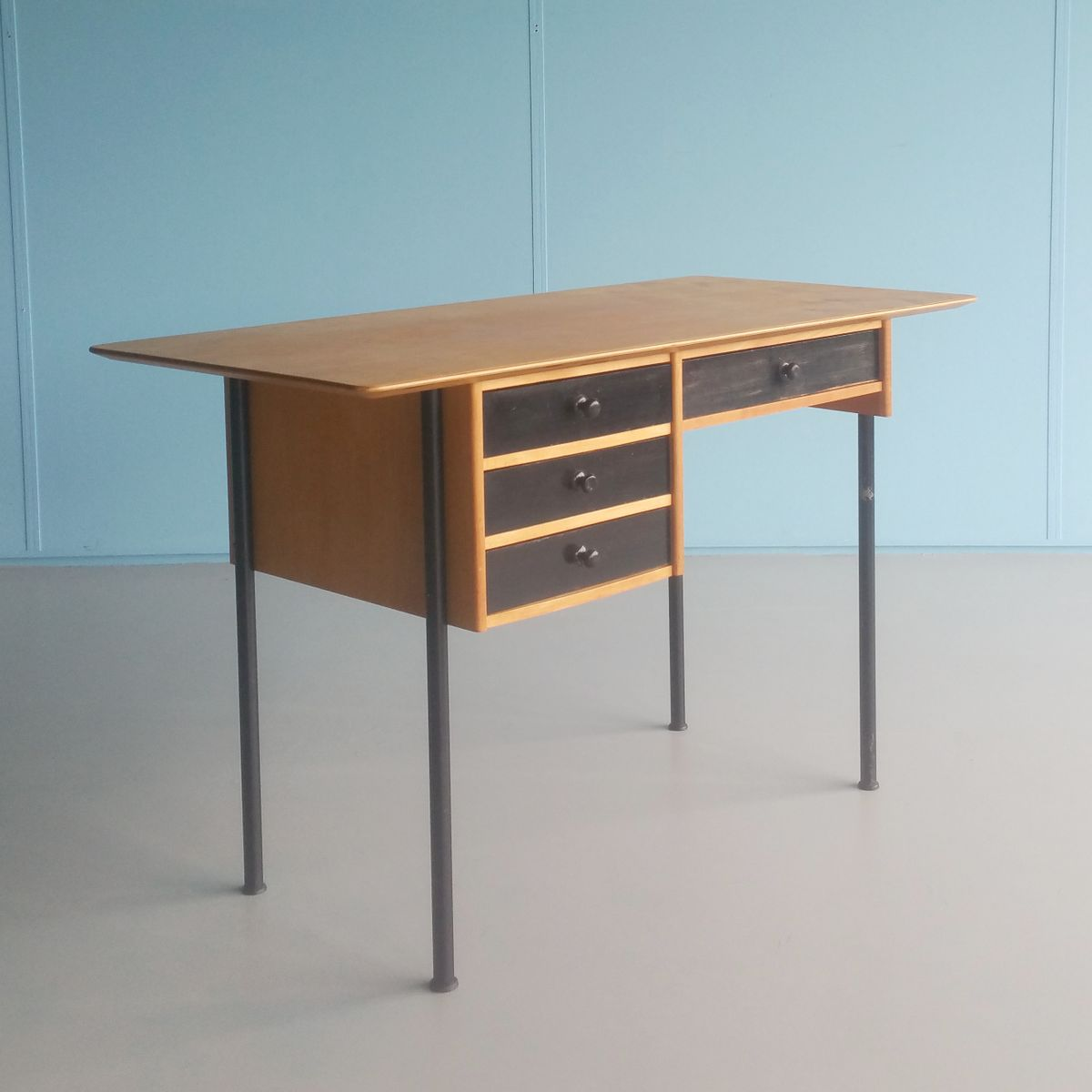 Two Sided Writing Desk 1950s For Sale At Pamono