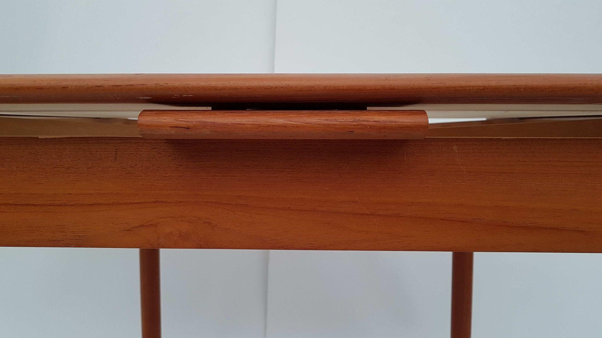 Danish Flip Top Teak Dining Table by Poul Hundevad for  : danish flip top teak dining table by poul hundevad for dogvad mobelfabrik 1960s 3 from www.pamono.com size 1920 x 1080 jpeg 117kB
