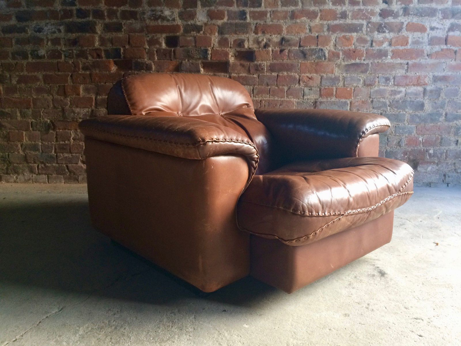 ds 101 sessel von de sede 1960er 2er set bei pamono kaufen. Black Bedroom Furniture Sets. Home Design Ideas