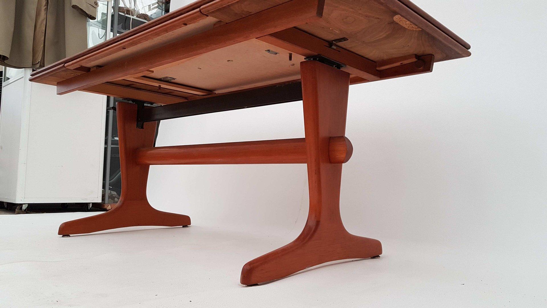 Danish Extendable amp Adjustable Teak Coffee or Dining Table  : danish extendable adjustable teak coffee or dining table 1960s 7 from www.pamono.com size 1920 x 1080 jpeg 139kB