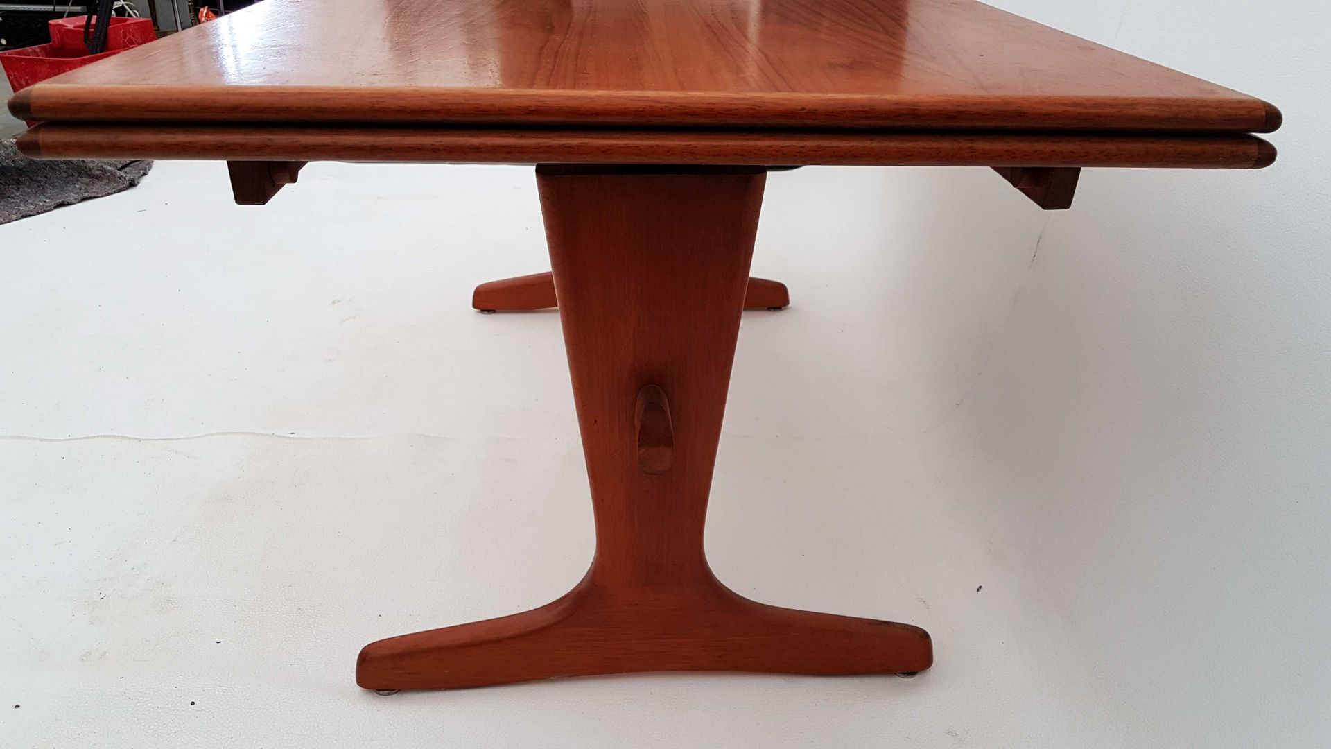 Danish Extendable Adjustable Teak Coffee Or Dining Table 1960s For Sale At Pamono