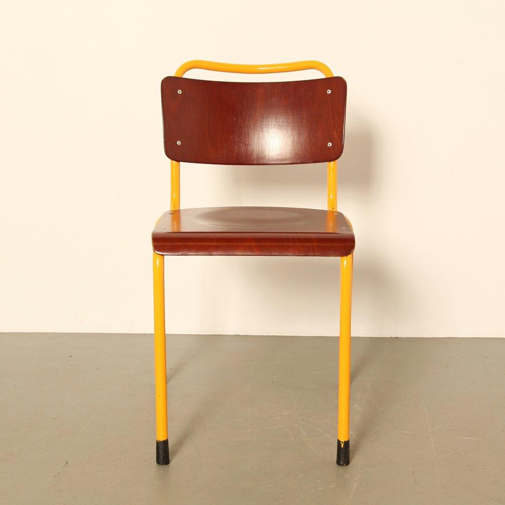 Chaise d appoint 1252 de gispen 1960s en vente sur pamono for Chaise d appoint