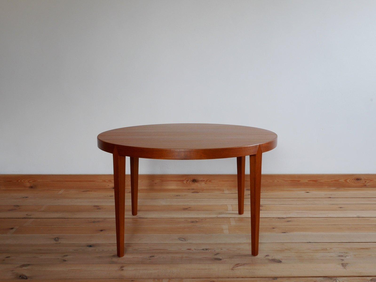 Danish teak round coffee table by severin hansen for haslev 1960s danish teak round coffee table by severin hansen for haslev 1960s geotapseo Choice Image