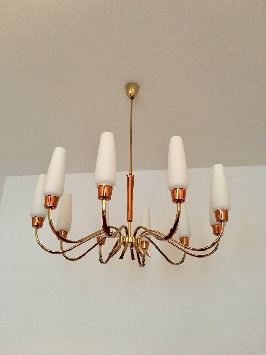 chandelier 1950s en vente sur pamono. Black Bedroom Furniture Sets. Home Design Ideas