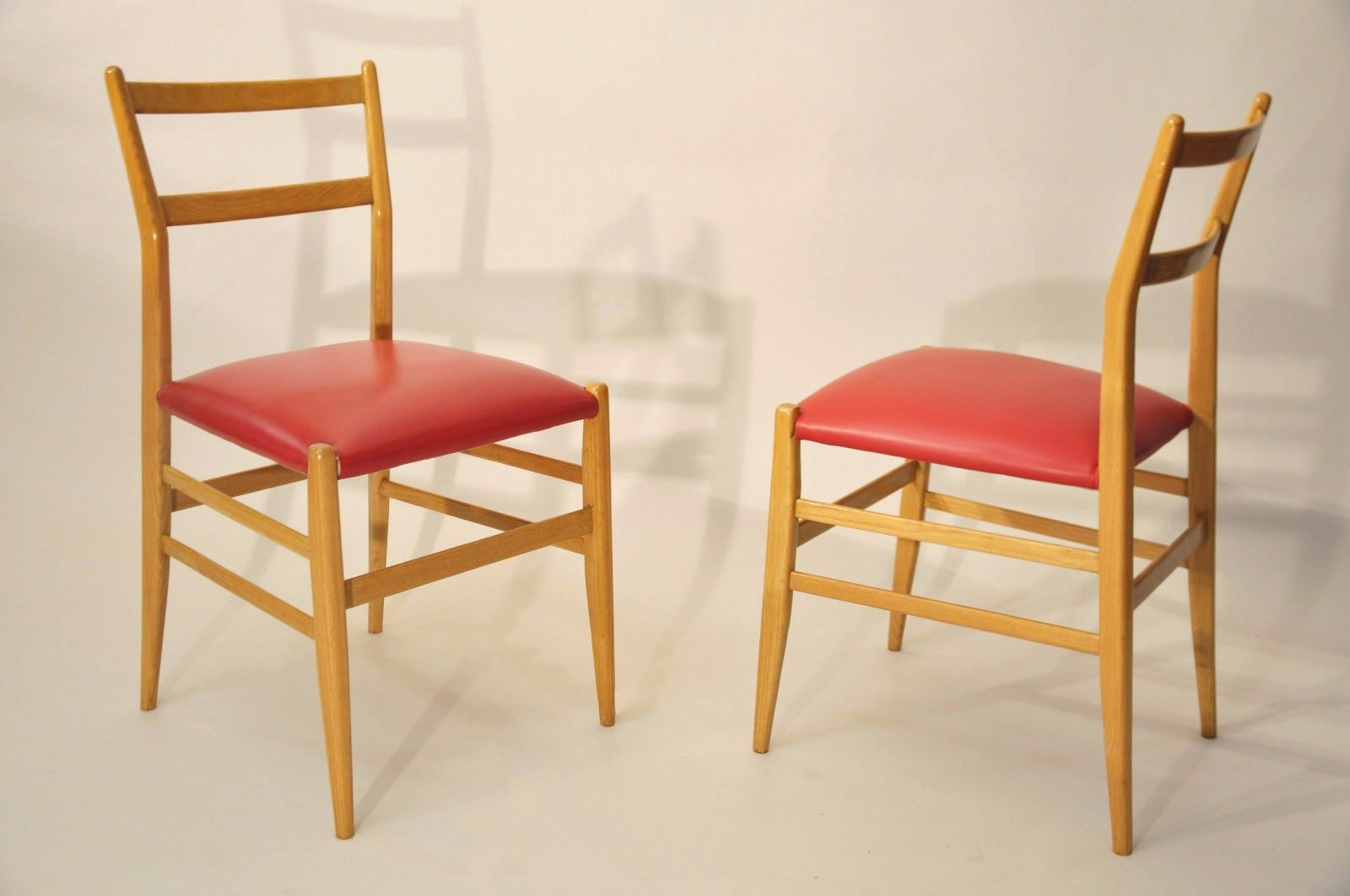 Side Chairs By Gio Ponti For Cassina, 1950s, Set Of 2