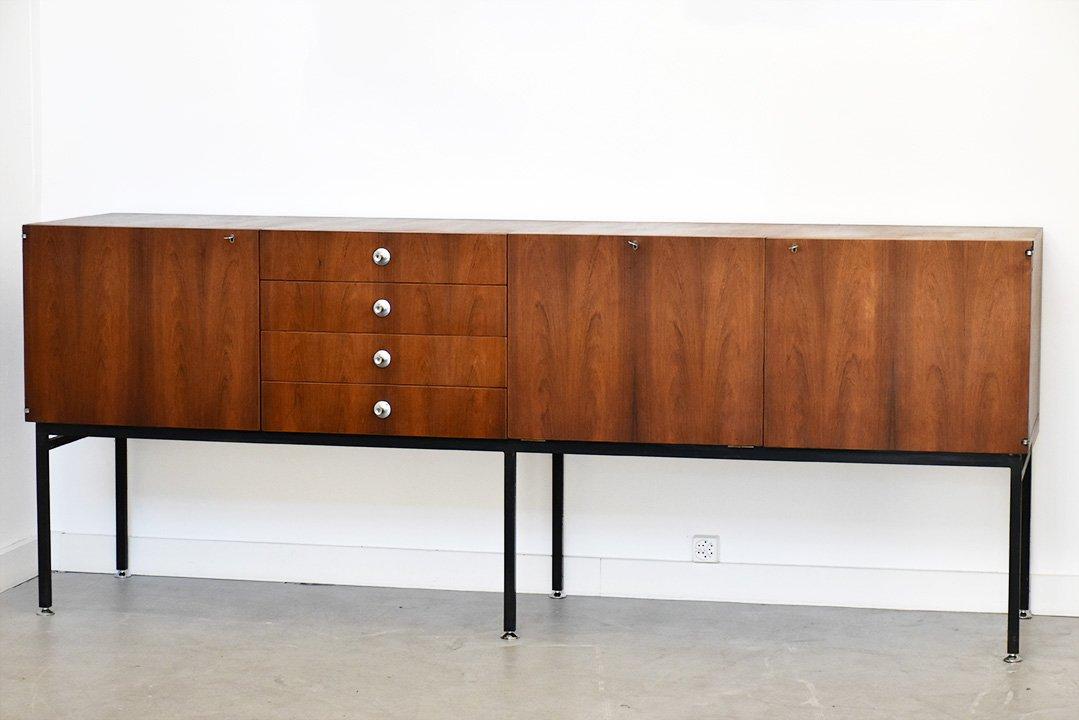 serie 800 sideboard von alain richard f r meubles tv 1958 bei pamono kaufen. Black Bedroom Furniture Sets. Home Design Ideas