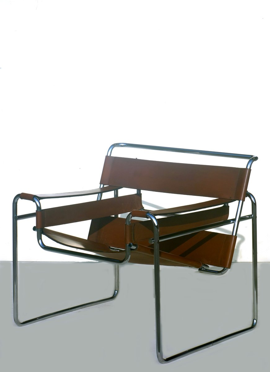 Marcel Breuer Sessel b3 wassily sessel marcel breuer für gavina 1960er bei pamono