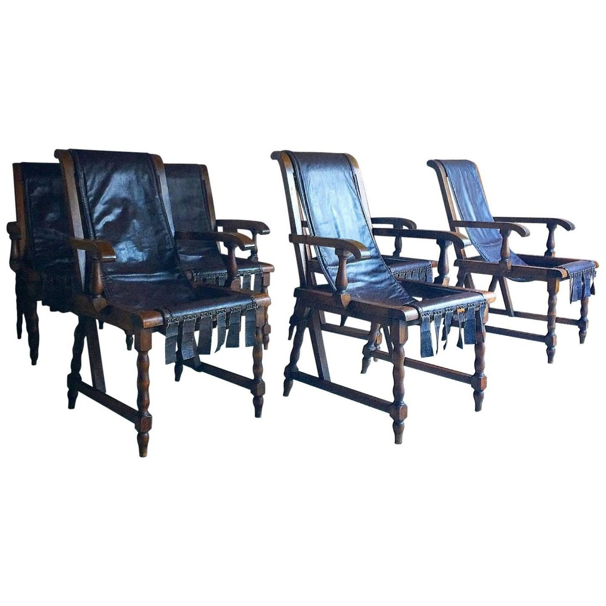 Vintage dining chairs set of 6 for sale at pamono for Set of 6 dining chairs