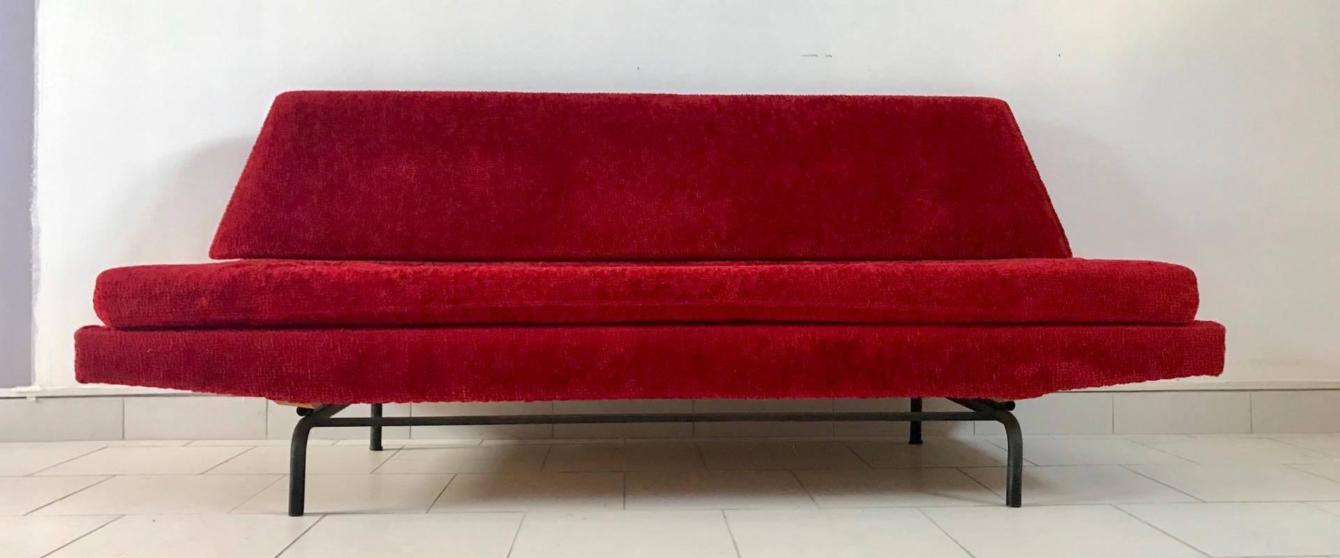 drei sitzer sofa 1970er bei pamono kaufen. Black Bedroom Furniture Sets. Home Design Ideas