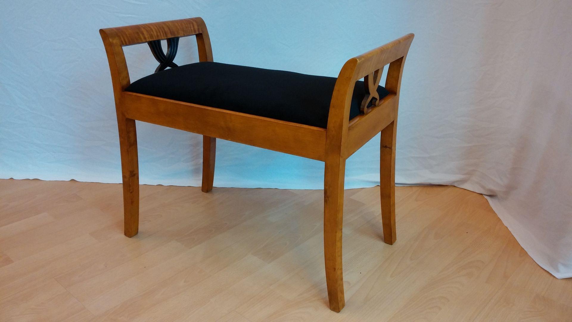 kleine antike bank bei pamono kaufen. Black Bedroom Furniture Sets. Home Design Ideas