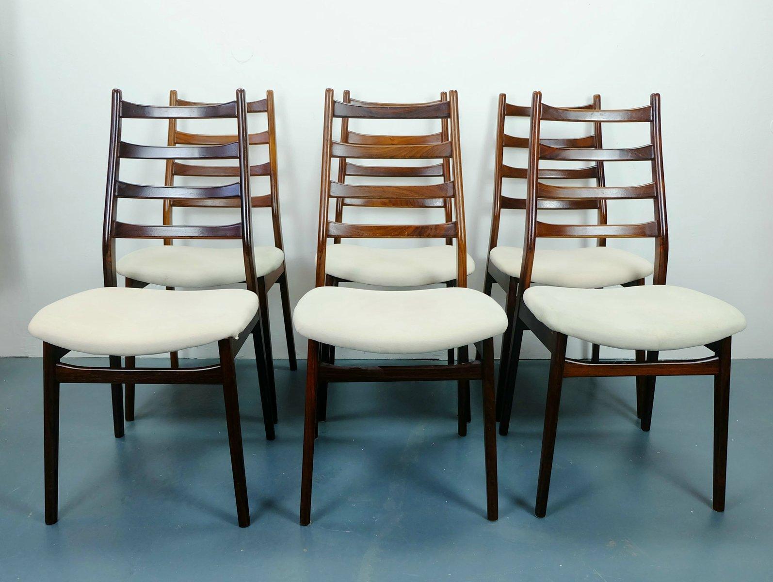 vintage palisander st hle von casala 6er set bei pamono. Black Bedroom Furniture Sets. Home Design Ideas