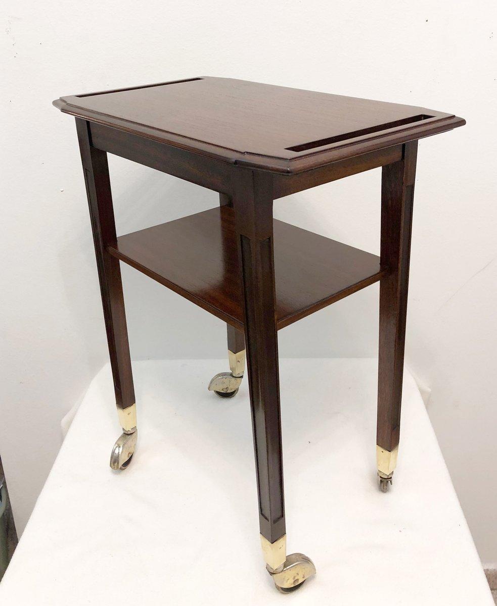 englischer servierwagen 1920er bei pamono kaufen. Black Bedroom Furniture Sets. Home Design Ideas