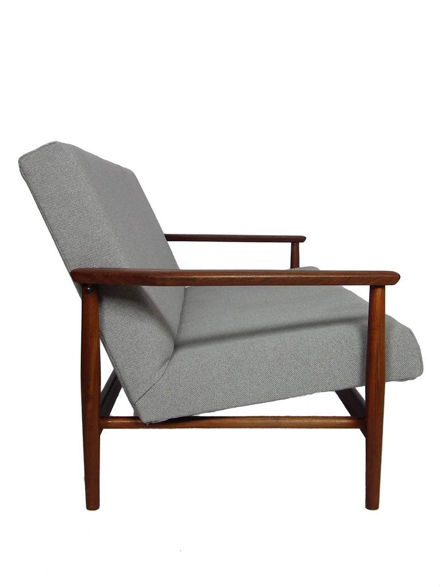 niederl ndisches mid century sofa in grau 1950er bei pamono kaufen. Black Bedroom Furniture Sets. Home Design Ideas