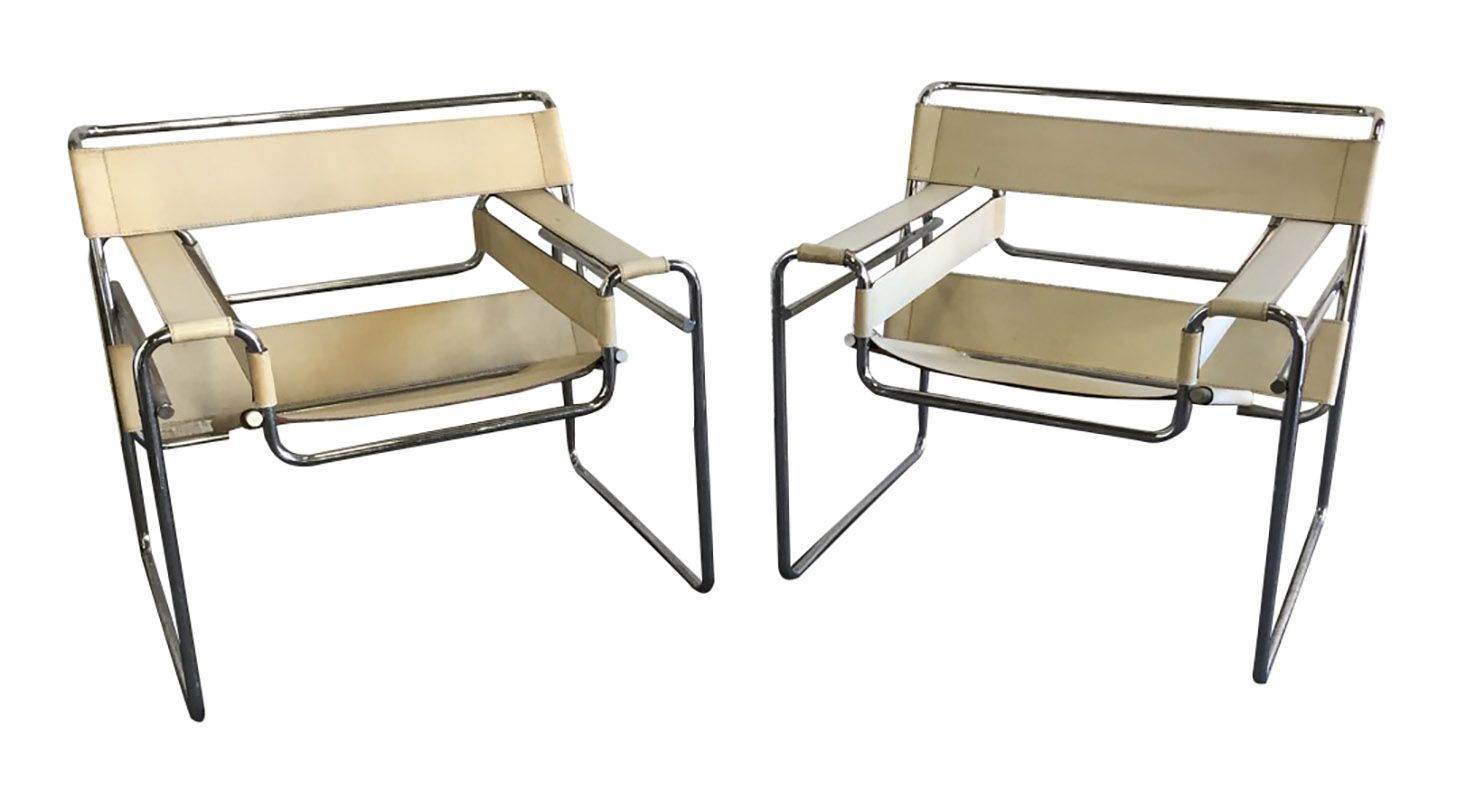 wassily sessel von marcel breuer f r gavina 1960er bei. Black Bedroom Furniture Sets. Home Design Ideas