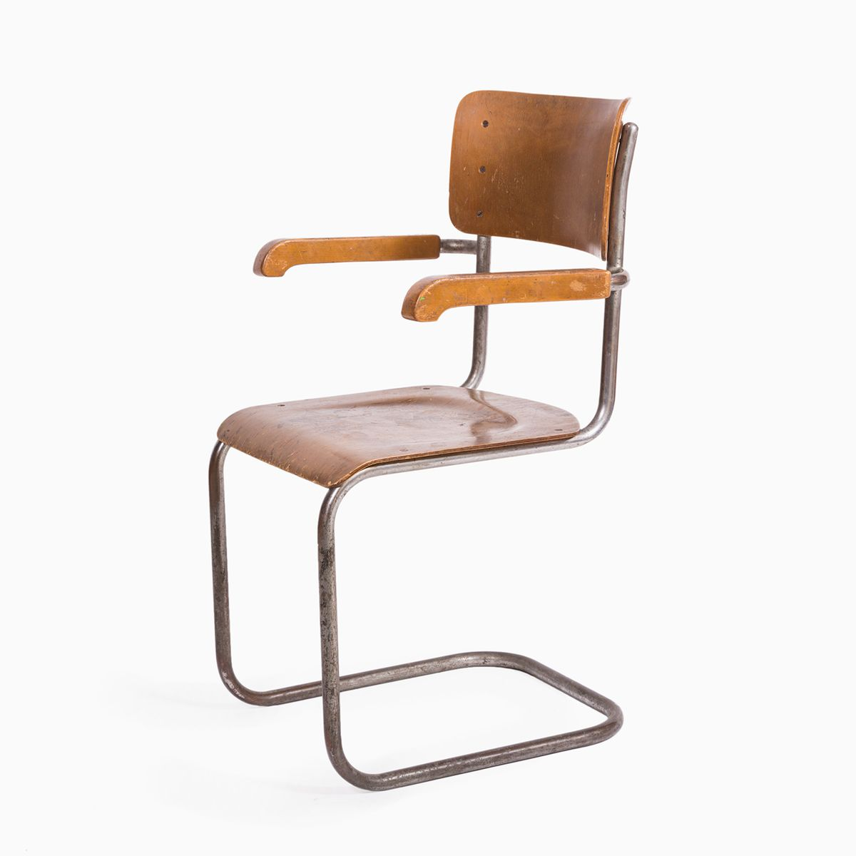 Mid century brown chair 1960s for sale at pamono for Z chair mid century