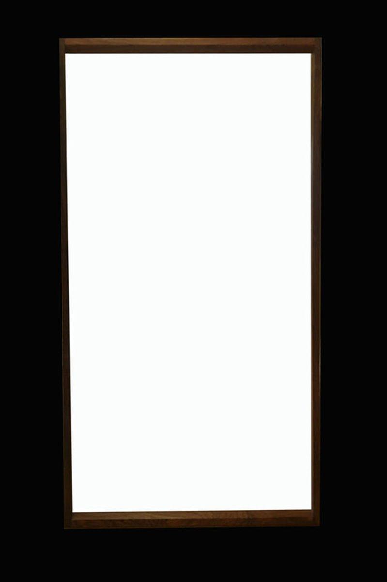 d nischer wandspiegel mit rahmen aus palisander von aksel. Black Bedroom Furniture Sets. Home Design Ideas