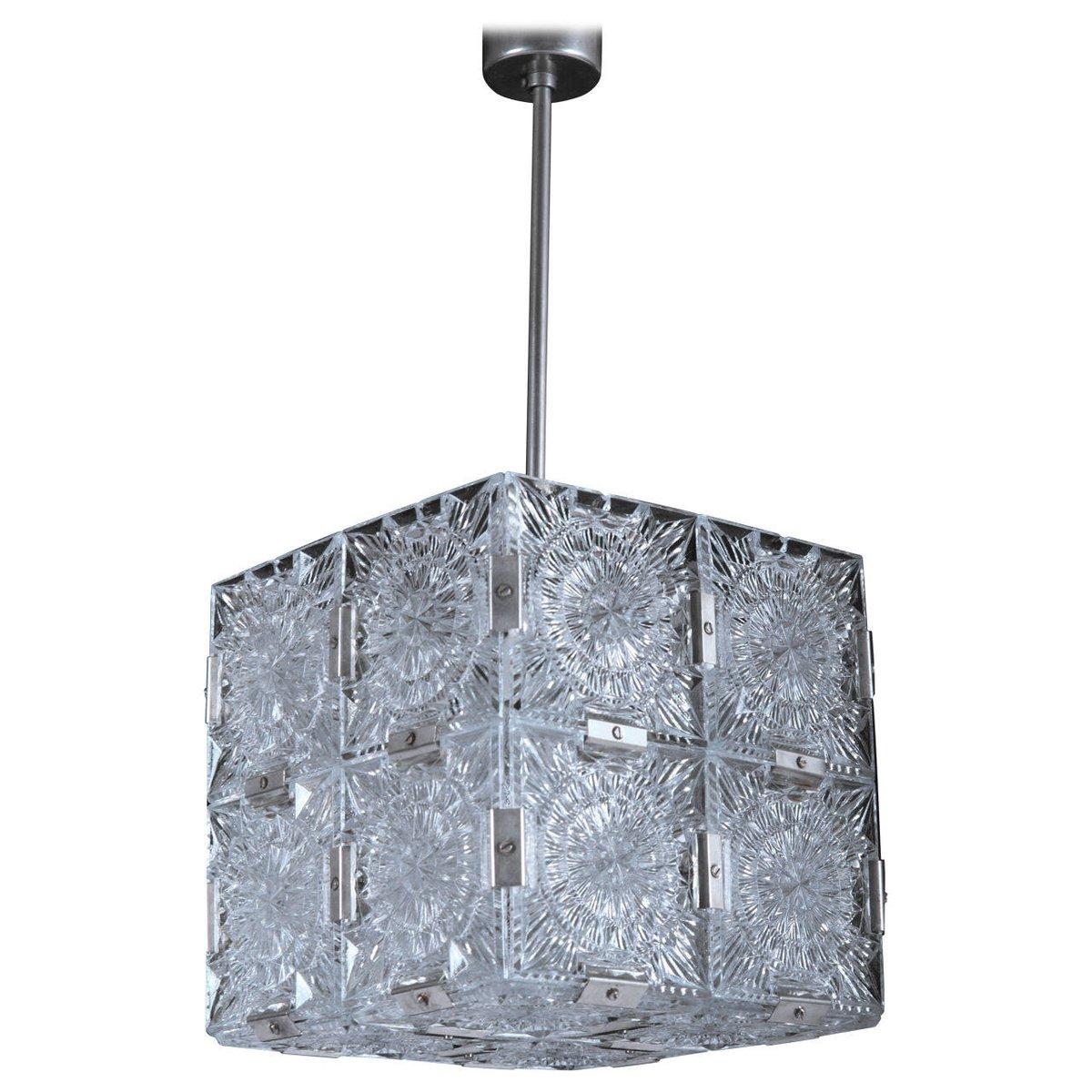 Mid Century Cube Pendant Light For Sale At Pamono