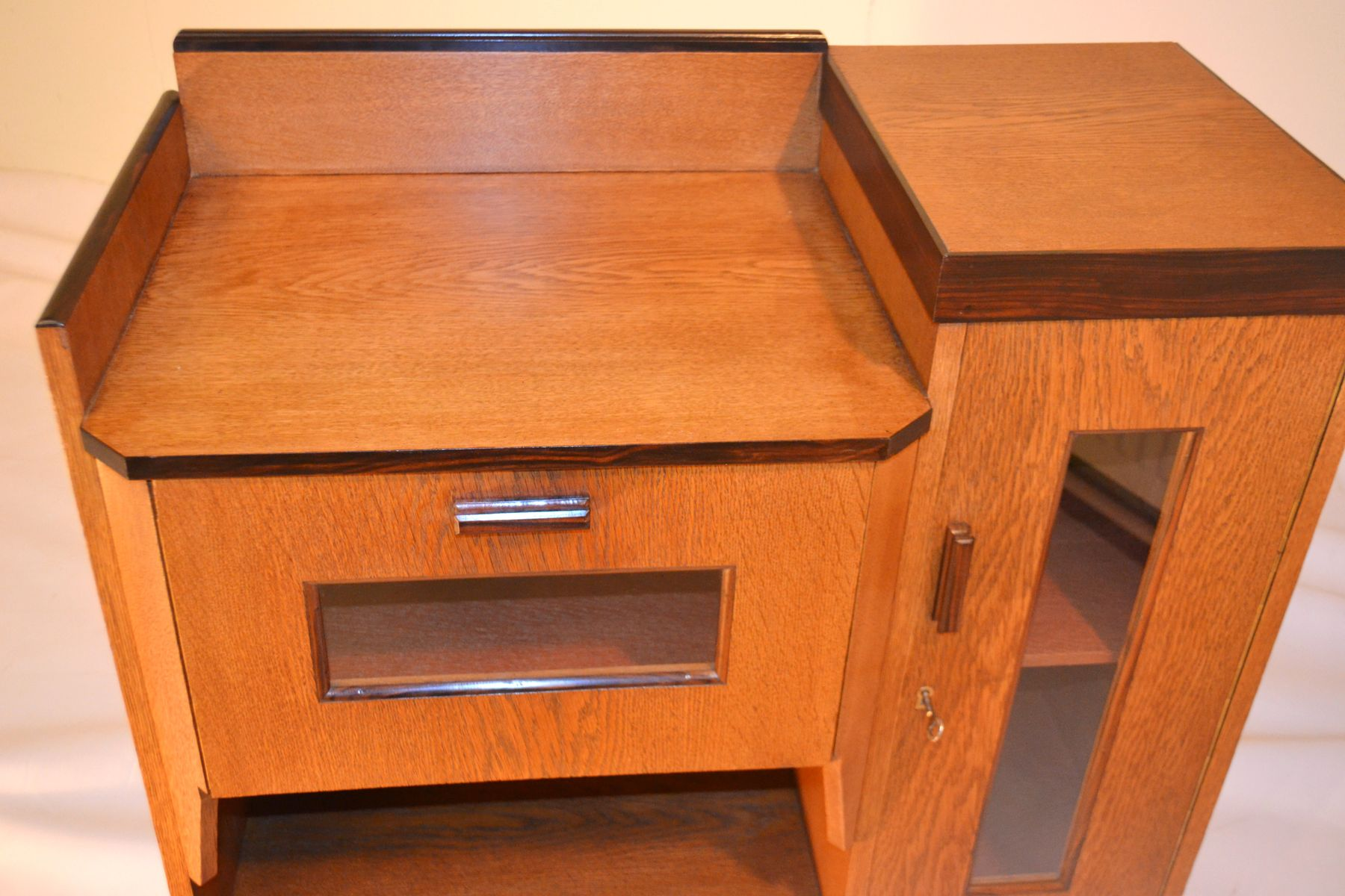 Tea cabinet 1930s for sale at pamono for 1930s kitchen cabinets for sale