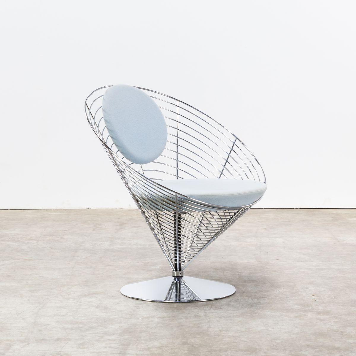 cone chair von verner panton f r fritz hansen 1980er bei pamono kaufen. Black Bedroom Furniture Sets. Home Design Ideas