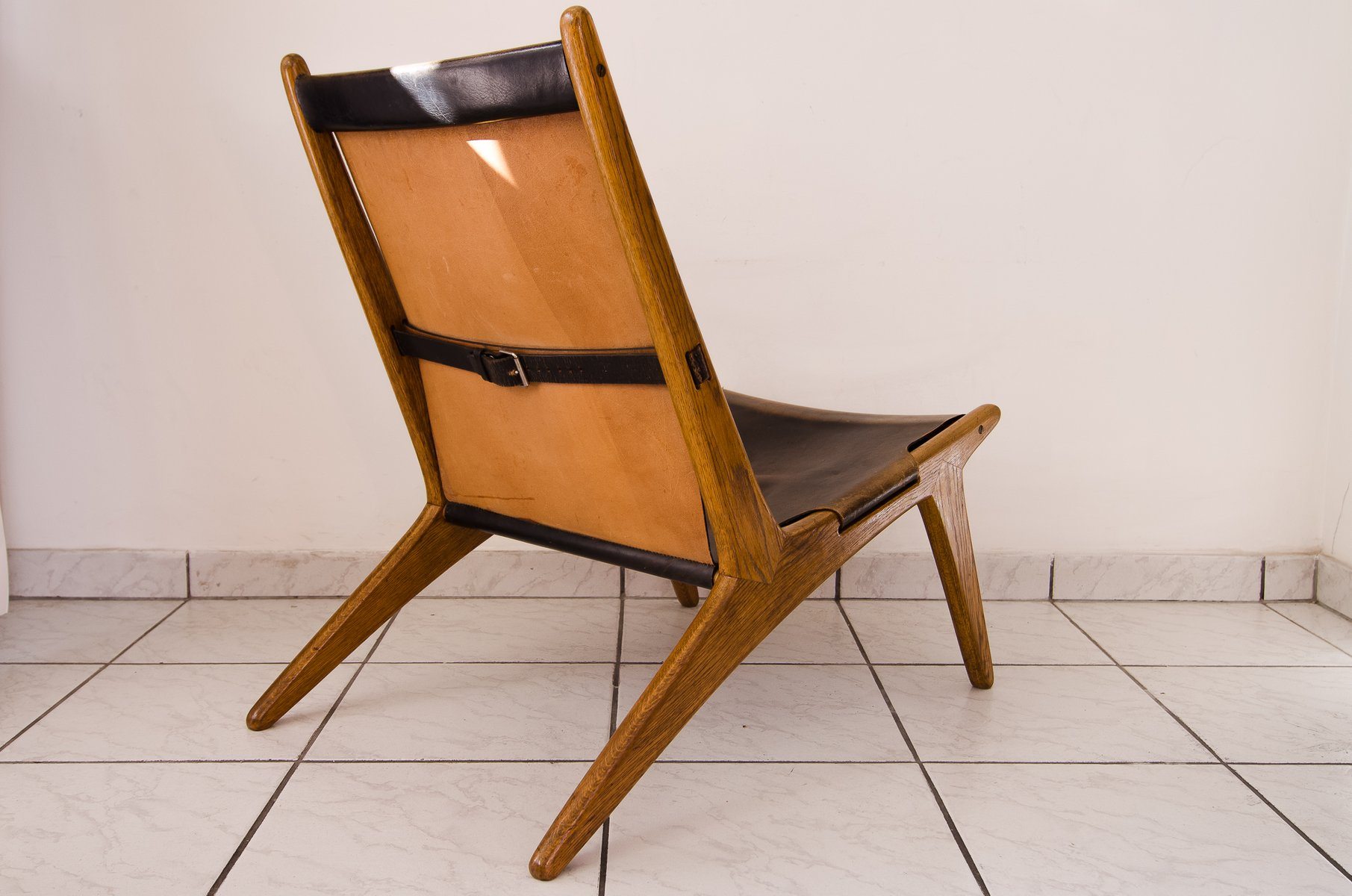 Vintage Hunting Chair by Uno & –sten Kristiansson for Vittsjö for