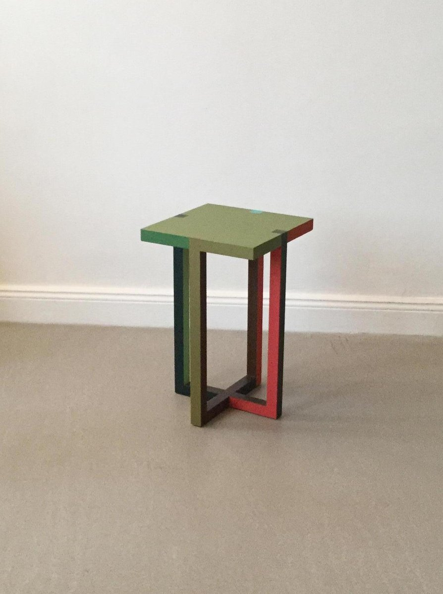 Rally q side table by martin holzapfel for sale at pamono for Table 00 martin szekely